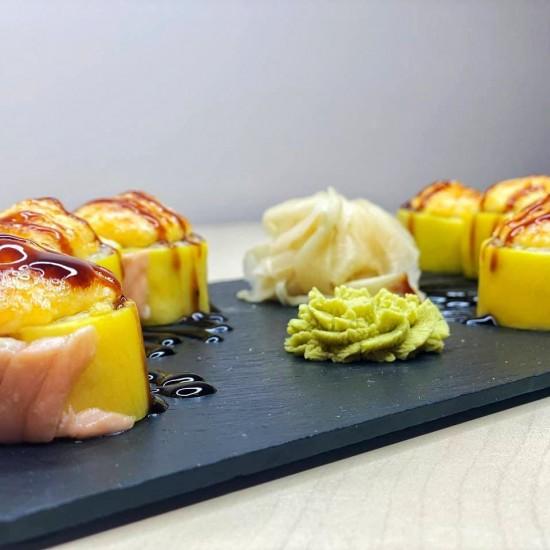 Hot-Mango roll (8 pcs.)