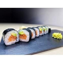 Sake-Avokado maki (8 pcs.)