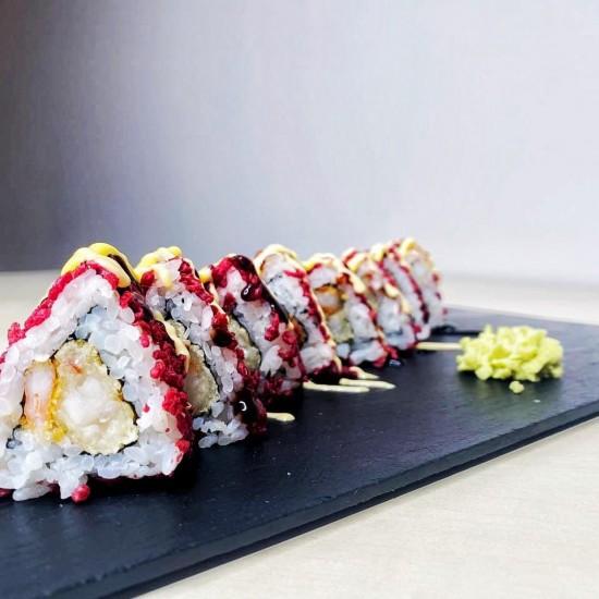 Crunchy  maki (8 pcs.)